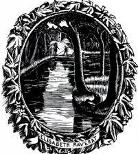 Bookplate of Elisabeth Raverat (giclée only)